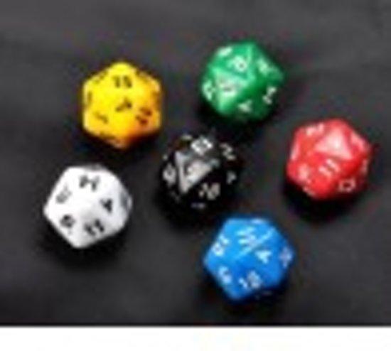 Afbeelding van het spel Leuke dobbelstenen met 24 cijfers