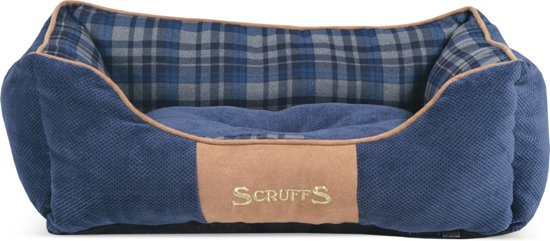 Scruffs Highland Box Bed - Blauw - S