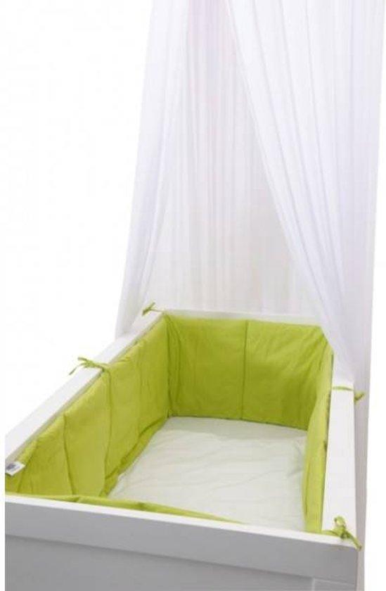 Baby Bed Beschermer.Bol Com Jollein Hoofdbeschermer Rondom 360x30 Cm Lime