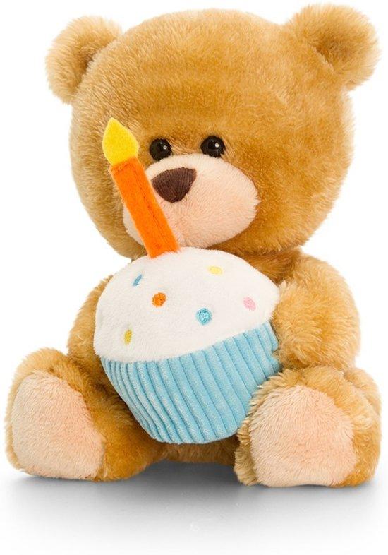 bol.com | Keel Toys pluche Verjaardag beren knuffel 14 cm cadeau