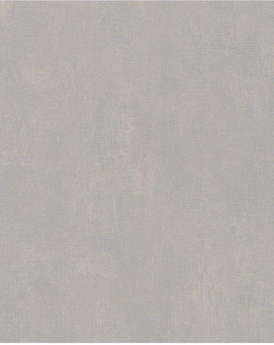 Nabucco uni grijs behang (vliesbehang, grijs)