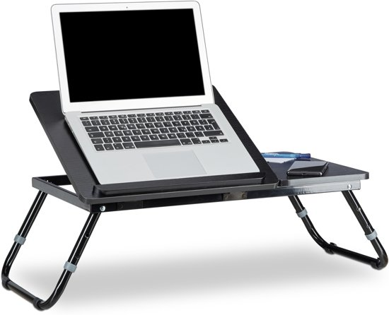 Laptop Tafel Bank : Bol relaxdays opklapbaar laptoptafel hout