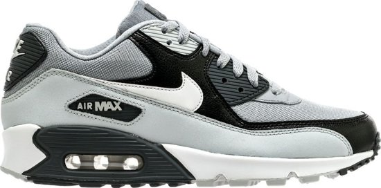 pretty nice 016ec ac187 Nike Air Max 90 Essential 537384-083 Grijs Zwart