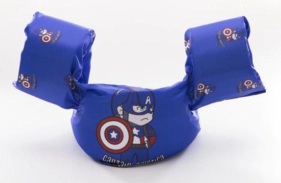 CAPTAIN AMERICA zwemvest - Puddle Jumper Deluxe - Captain America Design