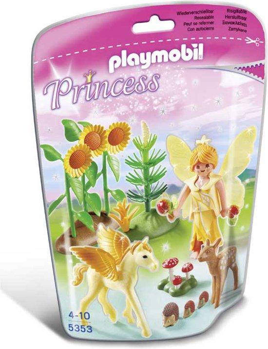 Playmobil Herfstfee met Pegasusveulen Goudstof - 5353
