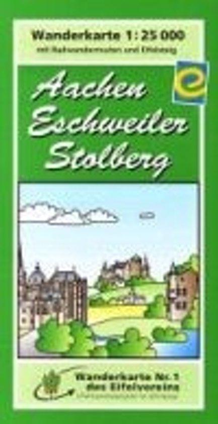 Eifelverein e.V. WK Aachen-Eschweiler-Stolberg 1:25.000 (1)