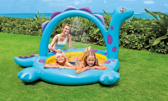 Intex Dino Spray Baby Zwembad