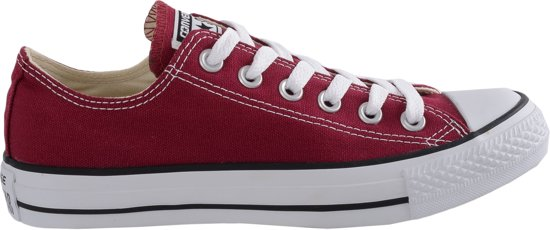 converse all stars bordeaux rood hoog