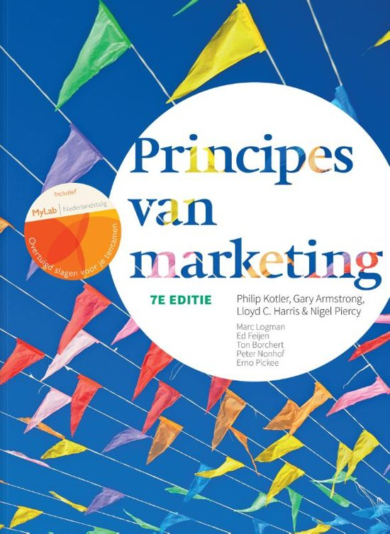 Principes van marketing - Philip Kotler