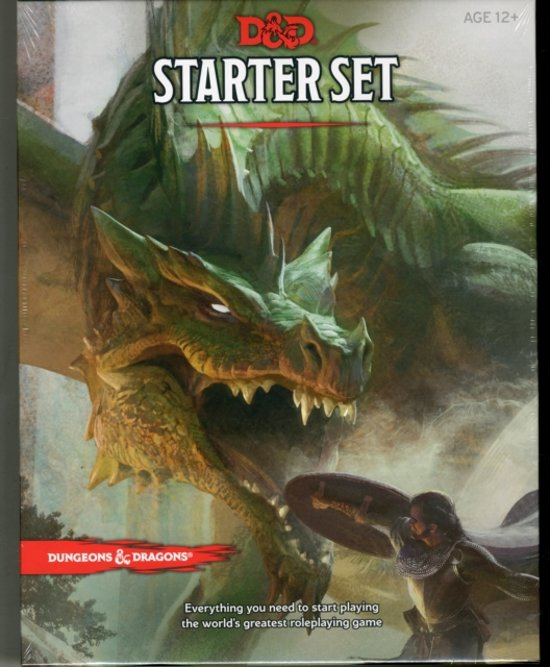 Dungeons & Dragons Starter Box (D&D Boxed Game) - Wizards of the Coast