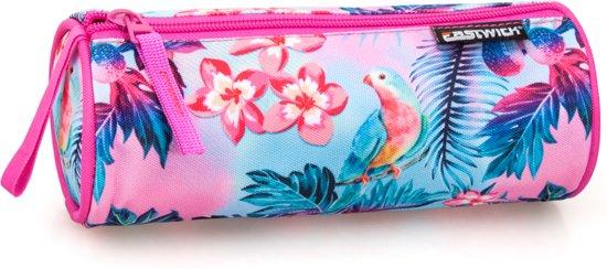 36b5d9a9019 bol.com | Eastwick - Etui Rond - Flamingo - voor Meisjes - 21 cm ...