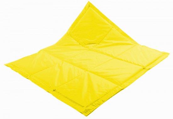 KidZ ImpulZ Baby Speelkleed - maat M 180*140 cm-  opvouwbaar- geel