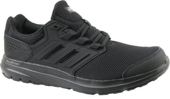Adidas Galaxy 4 M CP8822, Mannen, Zwart, Hardloopschoenen maat: 46 2/3 EU