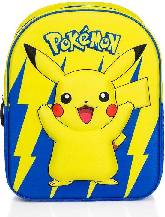 341f4531081 bol.com | Pokémon - Pikachu 3D Rugtas