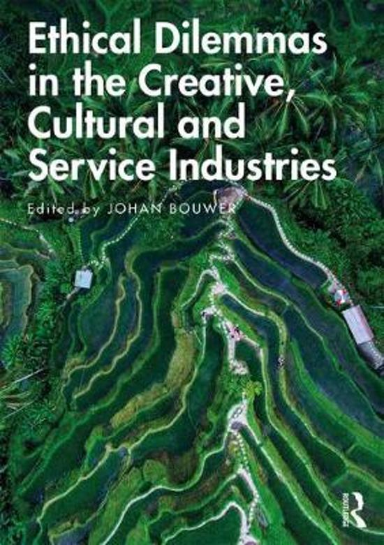 Ethical Dilemmas in the Creative, Cultural and Service Industries
