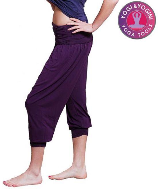 Yoga broek - Comfort Flow - Paars - Maat M/L