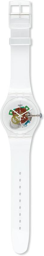 Swatch Random Ghost - Polshorloge - 41 mm - Wit