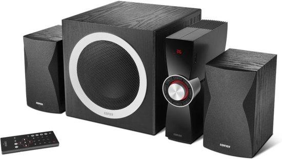 Edifier C3X - 2.1 speakerset / Zwart