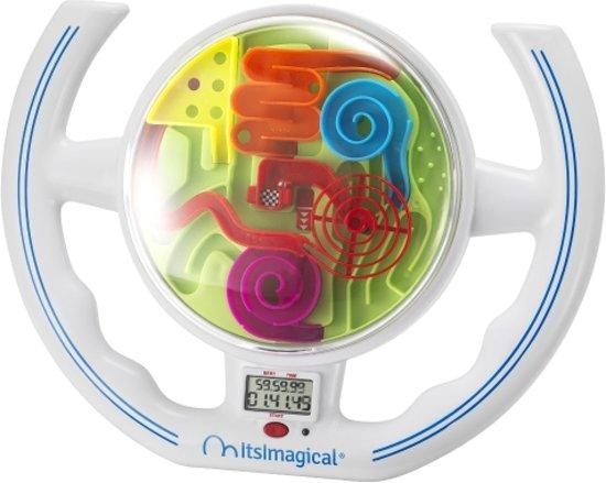 Imaginarium Maze Ball Racer - Kinderstuur met Doolhof - Inclusief Timer - Stuurtje voor Kinderen