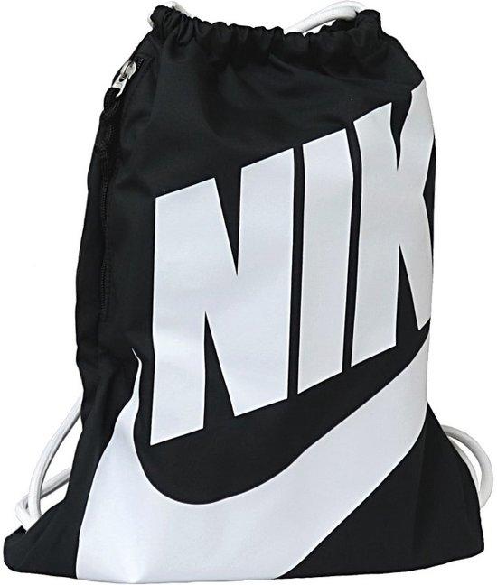 Nike Heritage Gymsack Sporttas Unisex - Black