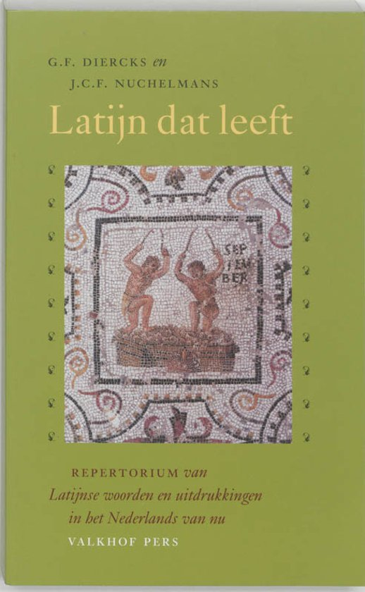 Boekomslag Latijn dat leeft