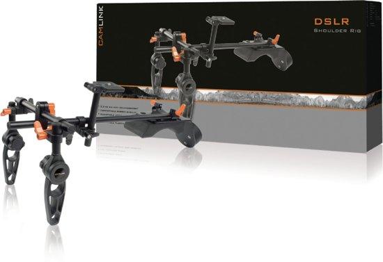 CamLink CL-RIG60 Zwart, Oranje kooi voor camerabescherming