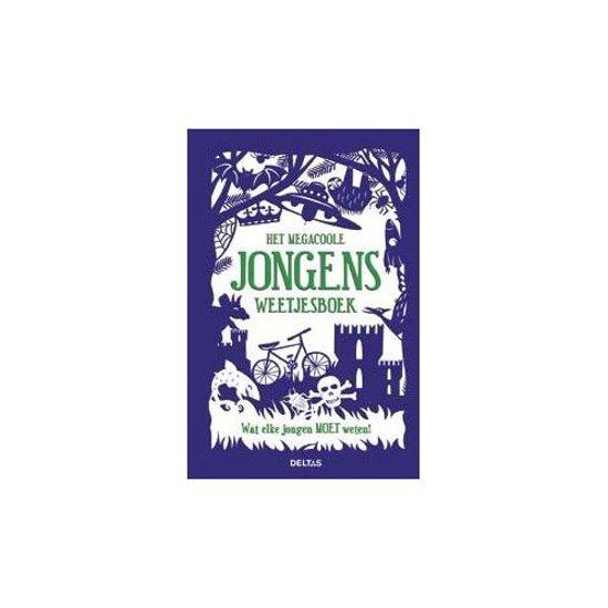 Het megacoole jongens weetjesboek