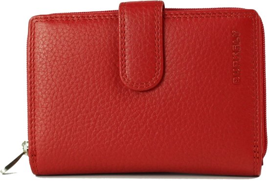 BURKELY Multipocket Red – Portemonnee – Rood