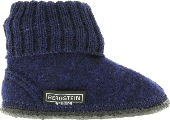 Bergstein Sloffen - Maat 30 - Unisex - blauw/zwart
