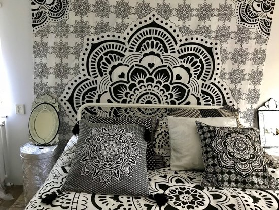 Bed Gordijn 9 : Bol holy mandala wandkleed bed bekleding gordijn