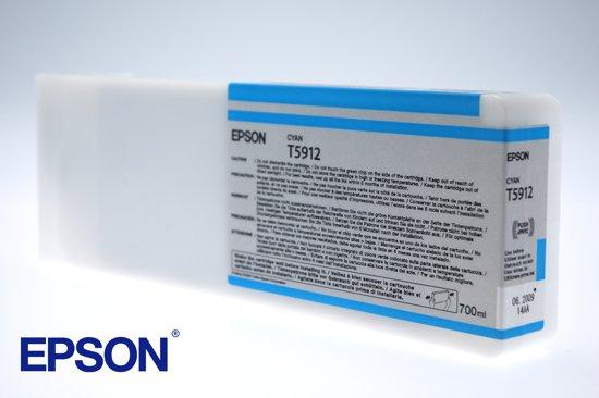 Epson T591200 - Inktcartridge / Foto Cyaan