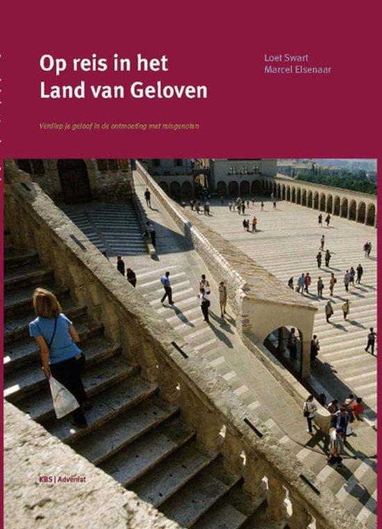 Cover van het boek 'Op reis in het land van geloven'