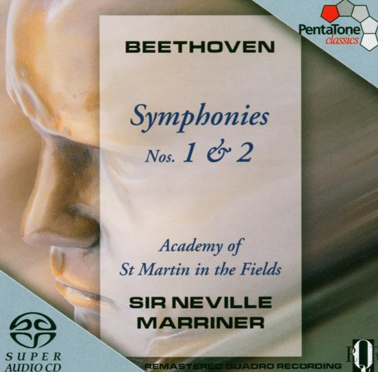 Beethoven: Symphonies Nos. 1 & 2 - Marriner -SACD- (Hybride/Stereo/5.1)