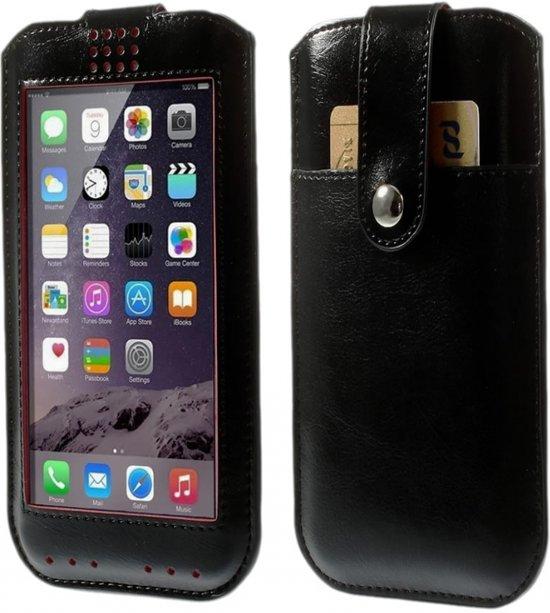 View Cover voor Samsung Galaxy J1, Hoes met Touch Venster, bruin , merk i12Cover in Hallaar