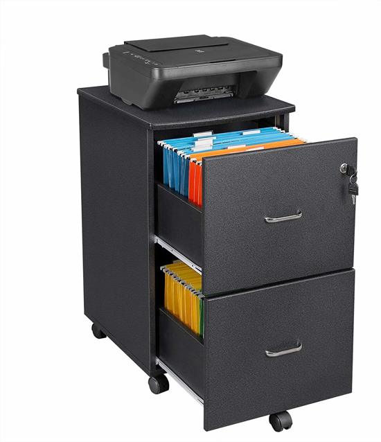 Ladeblok Met Slot Voor Bureau Locker Op Wieltjes 43x45x665 Cm B X D X H Zwart