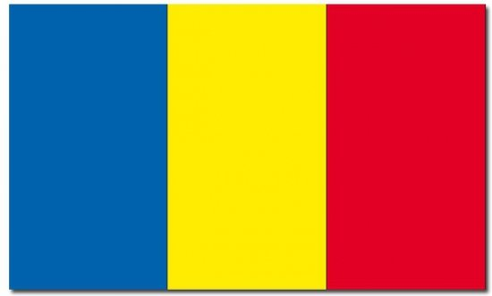 Vlag Roemenie 90 x 150 cm