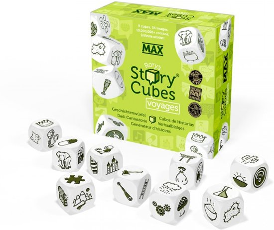 Afbeelding van het spel Rory's Story Cubes MAX - Voyages