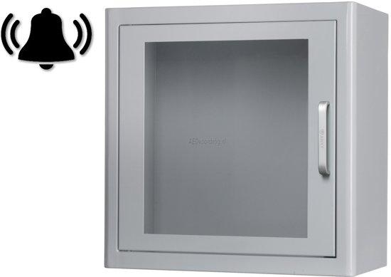AED kast - Indoor - Met alarm - Wit