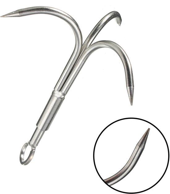 Vismagneet haak - Dreghaak - Werphaak anker onmisbaar bij magneevissen