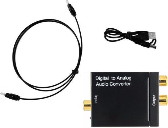 Goede bol.com | Digitaal Audio Converter (DAC) Digital Toslink naar rood AX-65