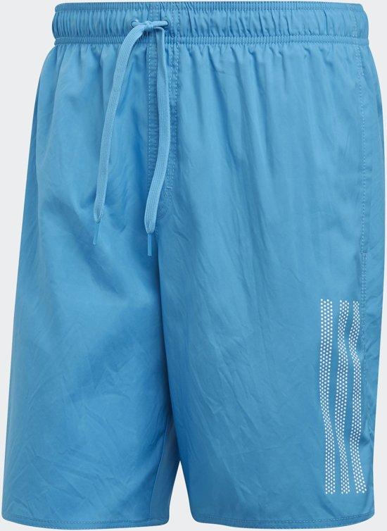 Zwembroek Blauw Heren.Bol Com Adidas 3s Sh Cl Zwembroek Heren Blauw