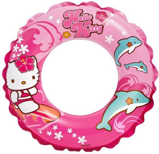 Hello Kitty Zwemring voor Kinderen – 51x61cm | Grote Zwemband voor in het Zwembad of op het Strand | Veilig Zwemmen | Waterband