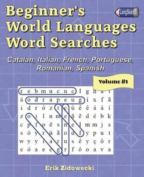 Beginner's World Languages Word Searches