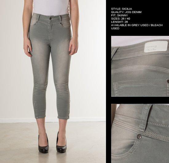 1dacb5a9c06 bol.com | New Star dames capri broek Sicilia grey denim - maat 26