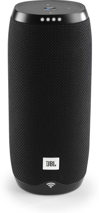 JBL Link 20 - Draadloze Smart Speaker met Google Assistant - Zwart
