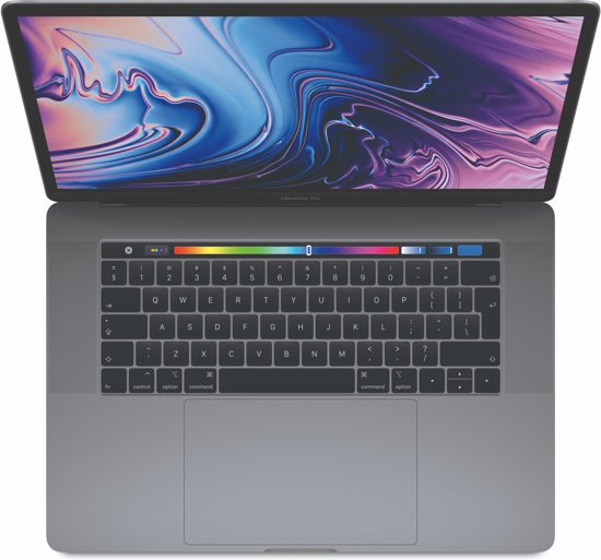 Apple MacBook Pro (2017) MPTT2 - 15.4 Inch - 512 GB / Spacegrijs