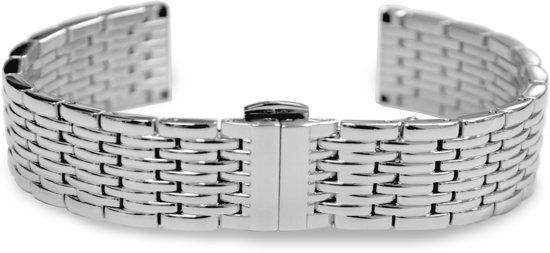 Max Horlogeband 5 MTS005 Stalen Horlogeband - Ø16 mm - Zilverkleurig