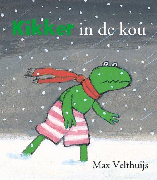 Boek cover Kikker - Kikker in de kou (mini) van Max Velthuijs (Onbekend)