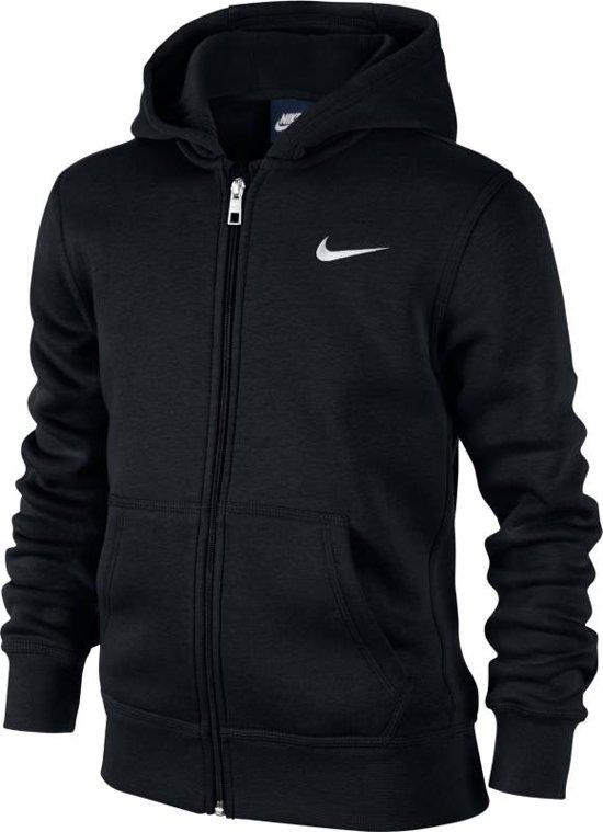 e2ee30b6ba8 bol.com | Nike NSW Hoodie Ya76 FZ Sportvest Kinderen - Zwart
