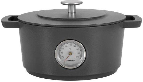 ComBekk Braadpan met Thermometer à 24 cm